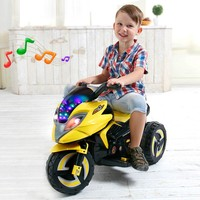 Children's Electric Scooter Baby Rechargeable Three-wheeled Electric Toy Car Kids Ride on Tricycle Boy Toy Cool Collectible Cars