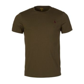 Polo Ralph Lauren Olive Green Crew Neck T-Shirt