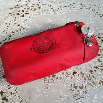 Vintage Boy Scout Canteen with Red Nylon Pouch Regal J9C