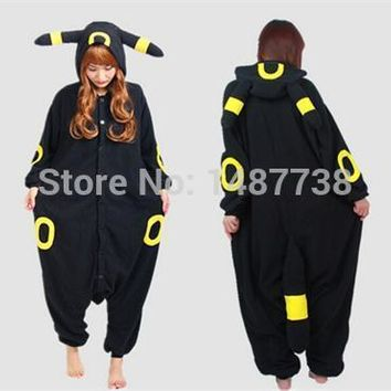 Adult Anime  Cosplay Costume Black Pikachu Umbreon Onesuit Unisex Pajamas Party For Women ManKawaii Pokemon go  AT_89_9