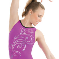 Whispering Swirl Leotard