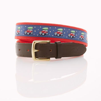 Truck and Tree Canvas Club Belt