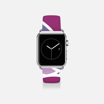 Purple Petals Apple Watch Band (38mm) by aledan | Casetify