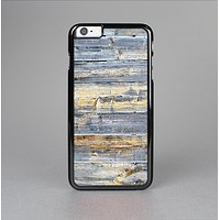 The Vintage Wooden Planks with Yellow Paint Skin-Sert Case for the Apple iPhone 6 Plus