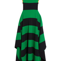 Stella McCartney - Striped jersey maxi dress