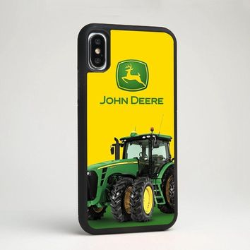 John Deere Manufacture Agricultural Silicone Phone Case Cover for iPhone Samsung