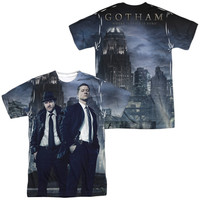 Gotham TV Show City Nights Sublimation Mens T-Shirt