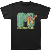 MTV Men's  Watch The Sunset T-shirt Black Rockabilia