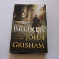 The Broker: A Novel by John Grisham: Doubleday 9780385510455 Hardcover, 1st Edition - Wisdom Lane Antiques