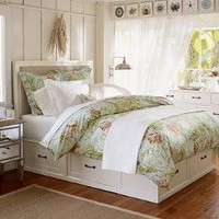 Stratton Bed with Drawers Bed & Dresser Set | Pottery Barn