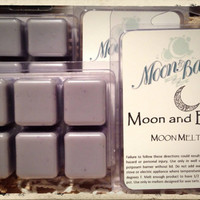 MOON AND BACK Moon Melts - soy wax melts/tarts