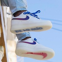 Nike Air Force 1 Fashionable Low-Top Wild Sneakers Couple Casual Sneakers