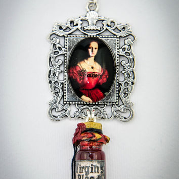 Bathory - virgin blood necklace