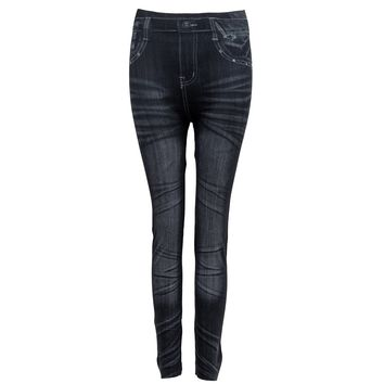Women Denim Jeans Sexy Skinny Leggings Jeggings Stretch Pants Trousers - 9type
