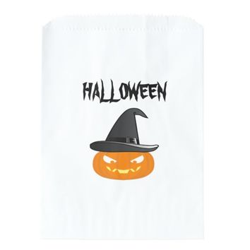 Halloween Pumkin Favor Bag