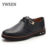 YWEEN 2017 New Casual Oxford Shoes,Classic Men Formal Shoes For Men,High Quality Men Dress Shoes