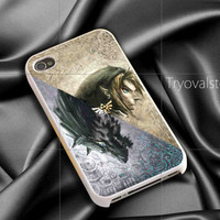 Zelda and wolf twilight princess iphone case ,samsung case for iphone 4/4S,5/5S,5C Accesories