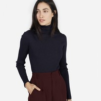 The Wool Ribbed Turtleneck