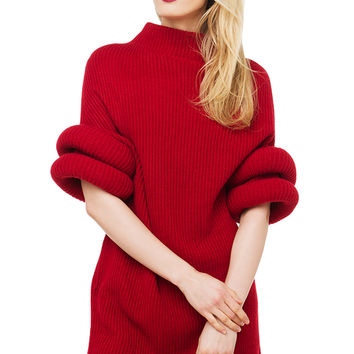 Gracia The Jetson Sweater - Red