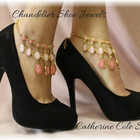 Chandelier Shoe Jewelry Amazing new look to make any pair of Heels extra special for weddings,bridal, prom, parties, special occasions  SJ1