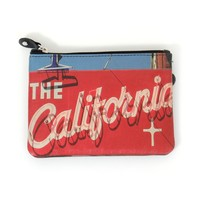 California Republic Vintage Retro Design Coin Purse