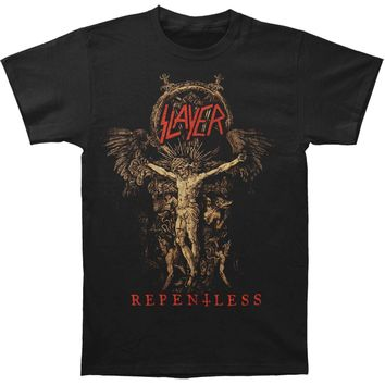 Slayer Men's  Cruciform Skeletal T-shirt Black