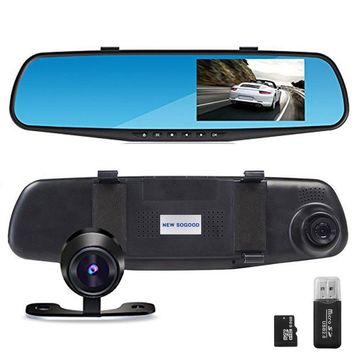 "THINK SOGOOD 4.3"" LCD HD 1080P Car Video Camera 