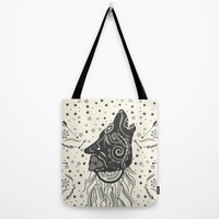 Wolf Tote Bag by Famenxt