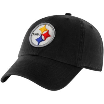Pittsburgh Steelers '47 Brand Classic Franchise II Fitted Hat – Black