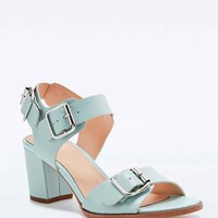 Deena & Ozzy Lucy Buckle Sandals in Mint - Urban Outfitters