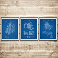 Vintage Camera Decor, Patent Print Group, Camera Wall Print, Camera Patent Art, Camera Patent Poster, Camera Wall Decor, INSTANT DOWNLOAD