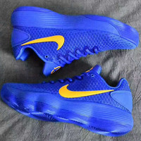 """""""Nike""""  Hyperdunk Low Fashion Color Soles Breathable Sneakers Basketball shoes Sport Shoes Blue G-PSXY"""
