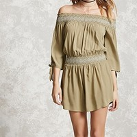 Contemporary Smocked Romper