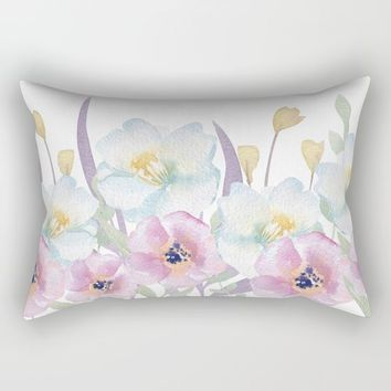 bloom Rectangular Pillow by Sylvia Cook Photography