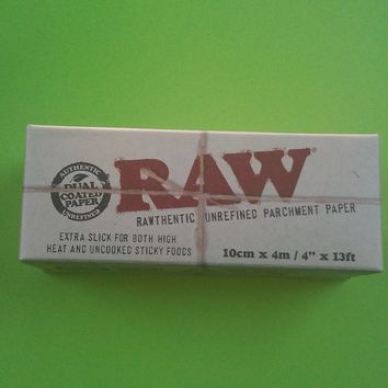 RAW parchment paper 4 in x 13 ft