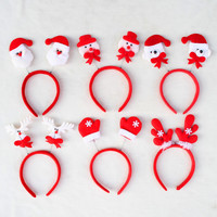 Hot sell Christmas decorations Santa Claus Fawn headband head buckle Christmas party Headwear