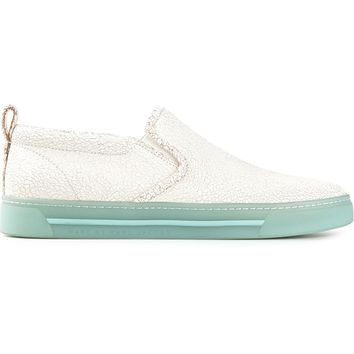 Marc Jacobs Crack Effect Skate Sneakers
