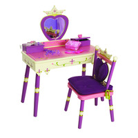 Levels of Discovery Princess Vanity Table & Chair Set - LOD20021