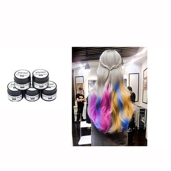 2017 Joyous One-time Dye Hair Dye Hair Spray Mud Cream Men's Hair Dye hair color
