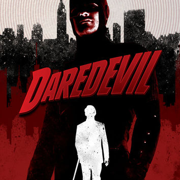 Daredevil Inspired A3 Print