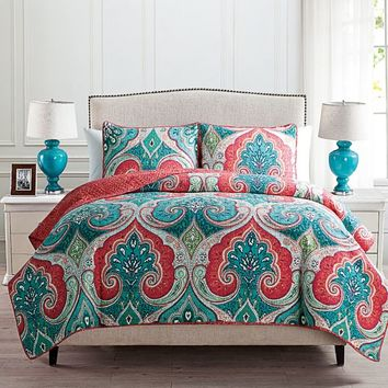 Alessia Reversible Quilt Set