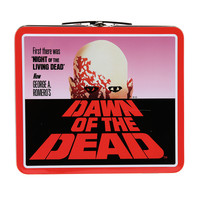 Dawn Of The Dead Poster Tin Lunch Box