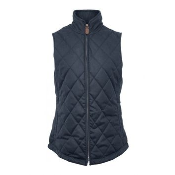 Women's Callaghan Quilted Gilet in Navy by Dubarry of Ireland