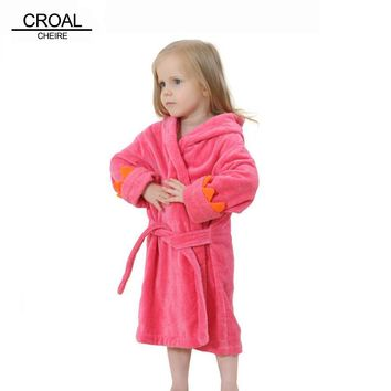 Poncho Hooded Towel Bathrobe