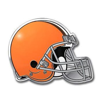 Licensed Official NFL Cleveland Browns Premium Vinyl Decal / Sticker / Emblem - Pick Your Pack
