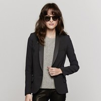 IRO Enfield Blazer In Noir | The Dreslyn