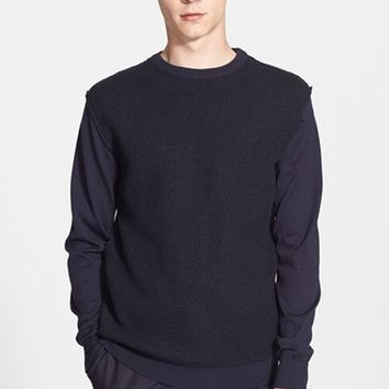 Men's AMI Alexandre Mattiussi Raw Front Sweater,