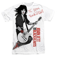 Joan Jett Sublimated