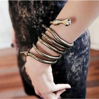 Snake Wrapping Bracelet Snake Wrapping Necklace Snake Bracelet Snake Necklace Flexible Necklace Flexible Bracelet Gold Snake.B780540