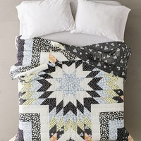 Mixed Print Patchwork Quilt | Urban Outfitters